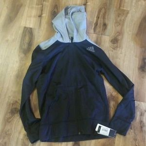 Nwt adidas zip up ultimate hoodie